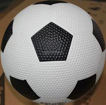 Popular manufacture golf rubber football soccer ball