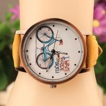 fashion leather watch, PU strap watch