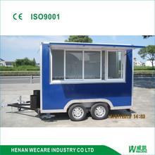 factory price. snack customized mobile box food vending van