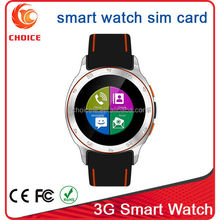 waterproof wrist watch mobile phone with android 4.4 and dual core cpu mtk6572