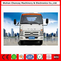 Hot new cheap price 2.5 ton cargo truck WAW brand EUROPEIII 4*2 mini cargo truck/van truck for sale