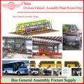 autobuses producción de equipos de línea