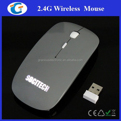Computer PC Accessories LED Logo Wireless Mouse Illuinate