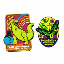 2015 promotional new design hot light sale 3d soft pvc tourist souvenir fridge magnet