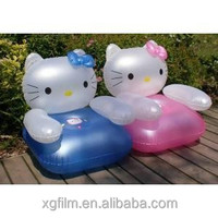 High quality TPU lovely kids inflatable sofa