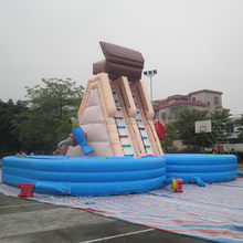 Top level Cheapest inflatable water slides wholesale