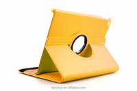 Cheap Wholesale belt leather case for ipad 6 for ipad air 2 case 360 degree Rorating PU case