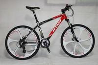 Cheap 26inch MTB/Mountain bike/bicycle alloy frame disc brake 24 speed
