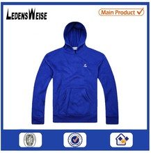 China beijing factory custom zipper-up cotton polyester hoodie