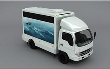 Mobile LED Screen Truck Pitch 10mm Vehicle Mounted LED Screen / Moblie Advertising Trucks for Sale