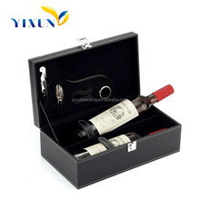Fashion Wholesale single bottle wine box,bulk wooden wine boxes,luxury red wine box