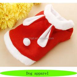 Cute winter pet apparel, cheap pet accessory, pet clothes for rabbits