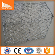 Galvanized gabion basket / welded gabion box / anping hexagonal mesh