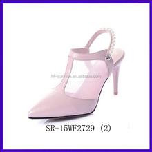 SR-15WF2729(2)fashion new women low heel lace up sandals sexy high heel ladies sandals photo dress latest ladies sandals designs