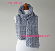 (RSH13141) Women Crochet Pattern Winter Knit Scarf