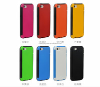 2015 new products TPU PC Touch Screen Hybrid Phone Case For apple iphone 5 5s 5c