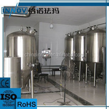 Cooling water jacket conical fermenter tank