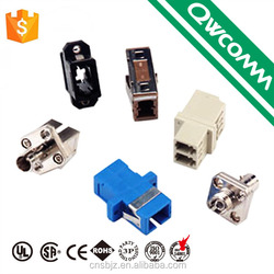 China suppliers assembly st sc lc pc female fiber optic adapter