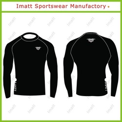 Blank Fitness Compression Wear for Sports Man