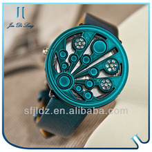 Hot selling waterproof magnetic fashion lady watch best mens digital watches 2012
