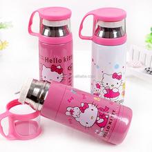 Hello Kitty Stainless Steel Children's 350ML Sport Travel Vacuum Flask Water Bottles