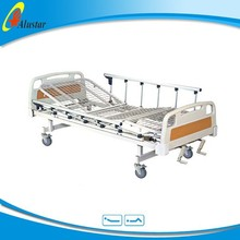ALS-M201B Professional manufacturer ! Two functions medical manual adjustable bed