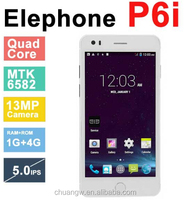 China Alibaba hot sales mtk6592 octa core 1.7GHz 2g/16g android4.4 4G Elephone P3000S with good quality