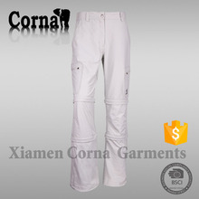 Custom made eco-friendly polyester half pants for men with great price