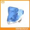 double colour 190t pvc leather cover,motorcycle cover red&siver at factory price