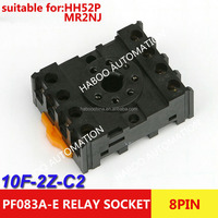 Relay socket (PF083A-E) electrical switch socket pcb type 8 pin relay socket