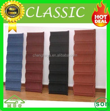 high quality long lifespan galvanized stone coated roof tile