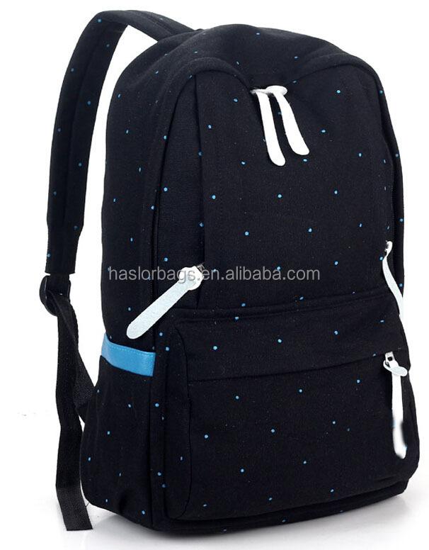 Toile sac d'école sac collège étudiants