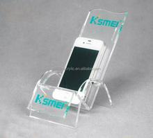 "3""x5"" fashion acrylic mobile phone display stand units"