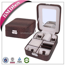 customized gift jewelry wholesale standing up jewelry storage case