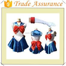 halloween Sexy cosplay Sailor Moon costume saxy school girl sets image