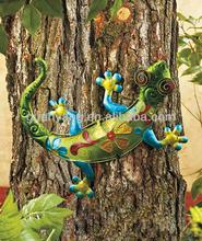 Gecko del Metal ( Animal ) colgante de pared para el jardín decoración
