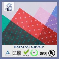 PVC Color Soft Film for Raincoat, Bag, Tag/ shiny red color