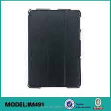 Ultra thin smart cover case for iPad mini 4 , tablet leather case for iPad mini 4