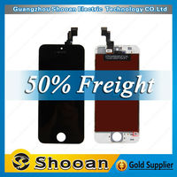 Foxconn wholesale price lcd for iphone 5s touch screen 4 inch