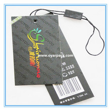 wholesale garment price hang tag with string for retail