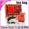 Yason custom plastic zip bag plastic standup pouch pineapple tea bag