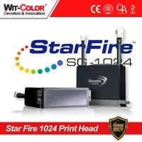 wit color 2015 the Lastest repairable solvent print heads Starfire 1024 10PL/25PL