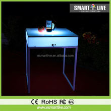 led bar table for the night club