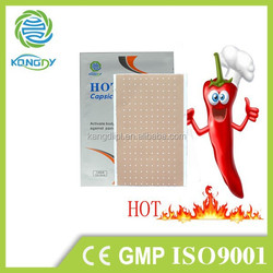 Chinese Natural medical pain relief capsicum plaster