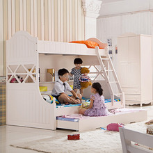 Korean children bed furniture bed height of three layers combination