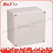 plastic enclosures/plastic waterproof electrical enclosure/IP68 plastic enclosure ABS plastic junction box