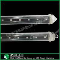 360 degree led dmx 3d vertical tube best quality madrix compatible