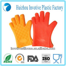 100% Food Grade Sedex Factory Audit Wholesale novelty High quality safe Silicone rubber Oven Mitts