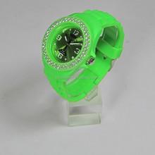 Laixinwatch silicone fashion men diamond watches