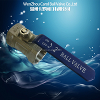 1 pc ss thread ball valve
